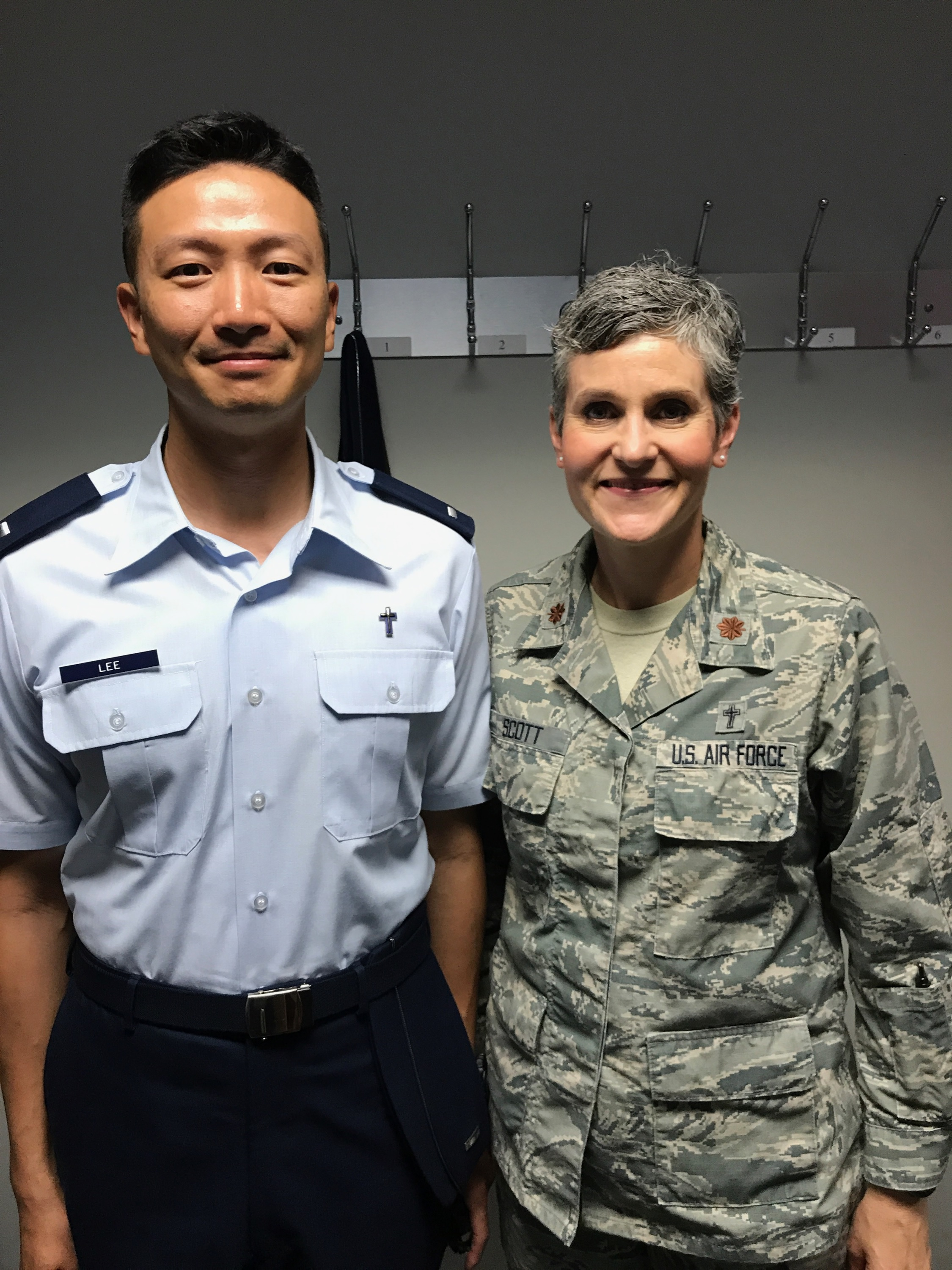 Evangelical church alliance international ch 1st lt john haebong lee joined for the occasion by ch maj katherine m scott eca military chaplain commission member and staff chaplain at the air xflitez Images