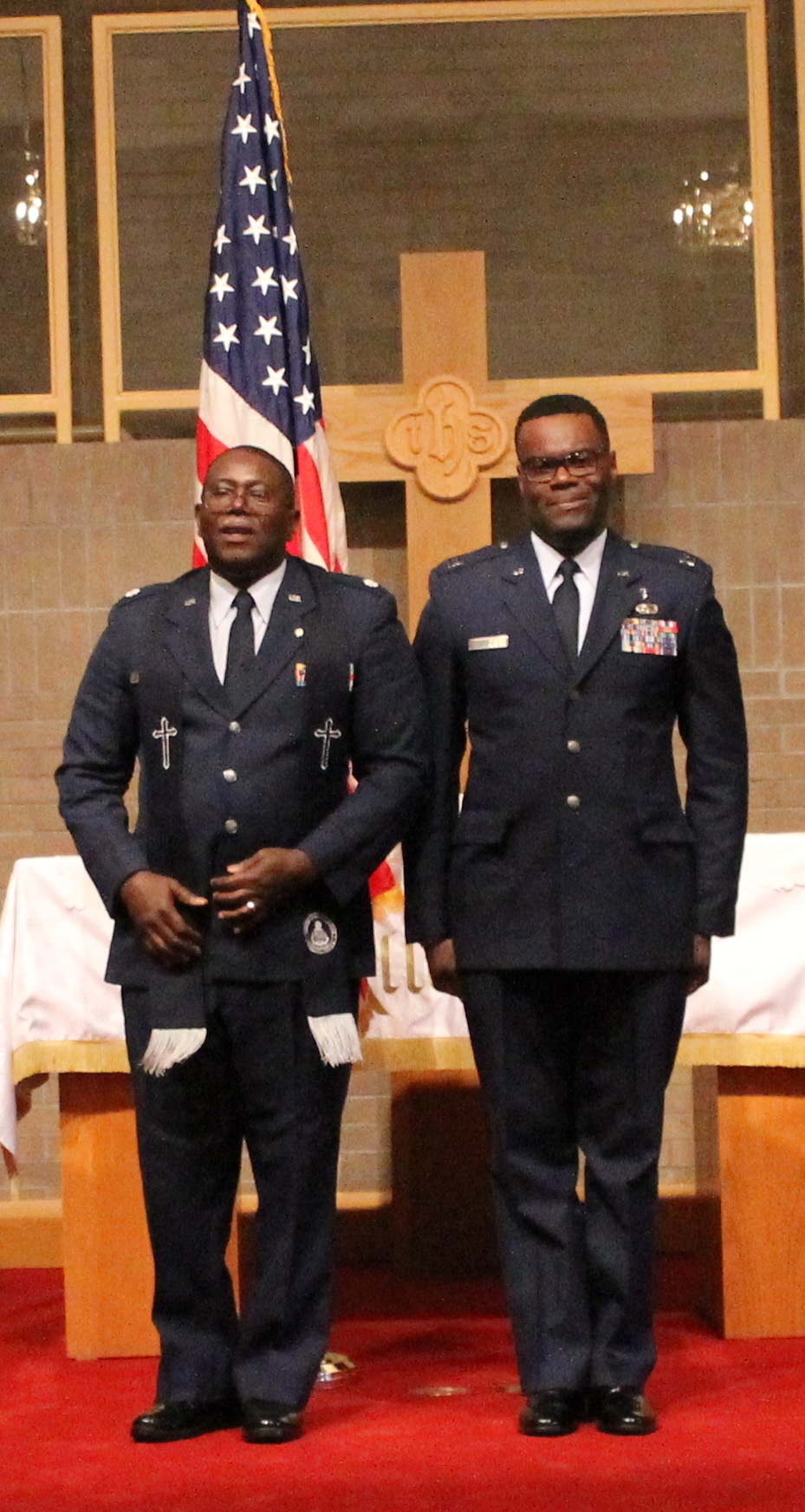 Evangelical church alliance international congratulations chaplain brown xflitez Images